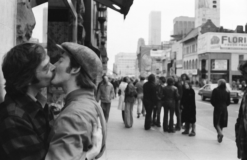 Lot #3<br/>Kissing on Yonge Street   ~  Gerald Hannon