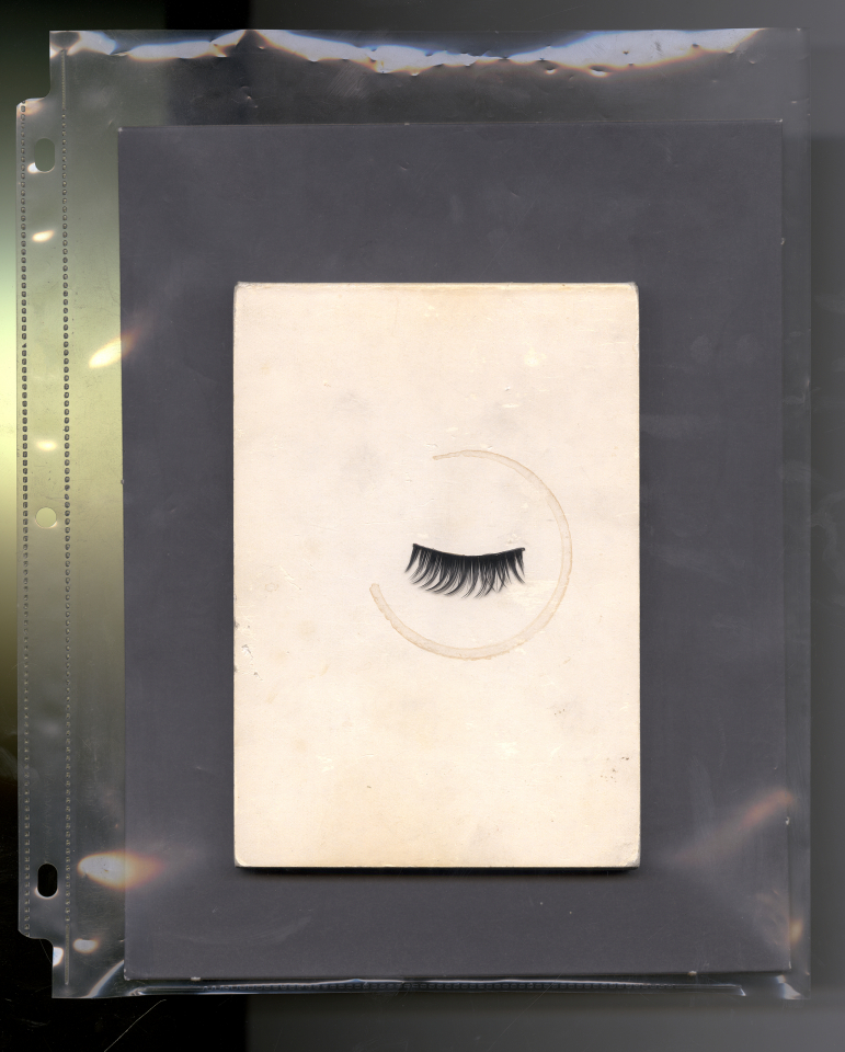 Lot #10<br/>A Closed Eye (Verso)  ~  Jackson Klie