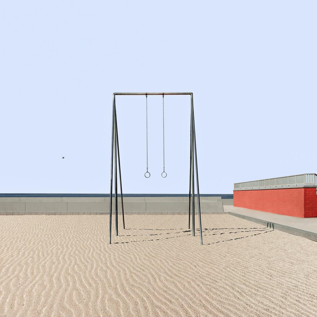 Lot #3<br />Muscle Beach  ~  Mara Gajic - Winner, Award of Merit