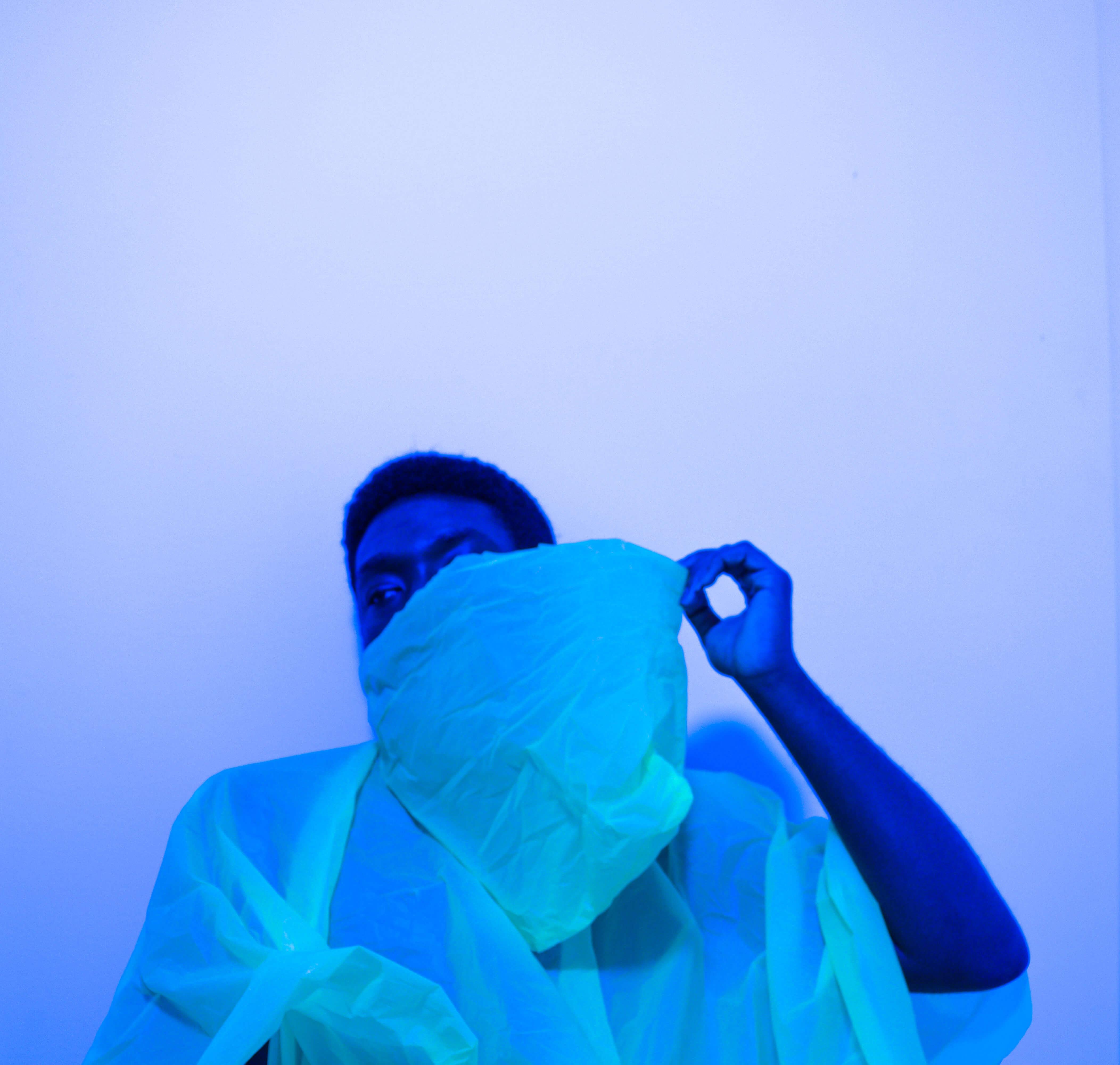 Lot #4<br />Blue living ~  Olanrewaju Victor Abiola