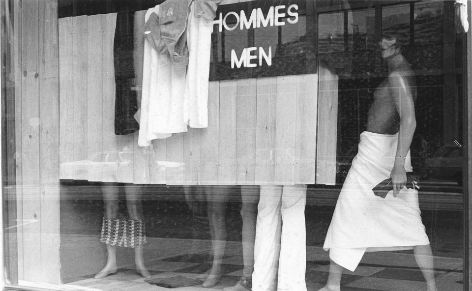 Lot #1<br/>Window-Display  ~  Gerald Hannon