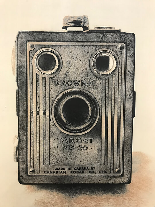 Lot#35<br />Box Brownie ~ Bob Carnie