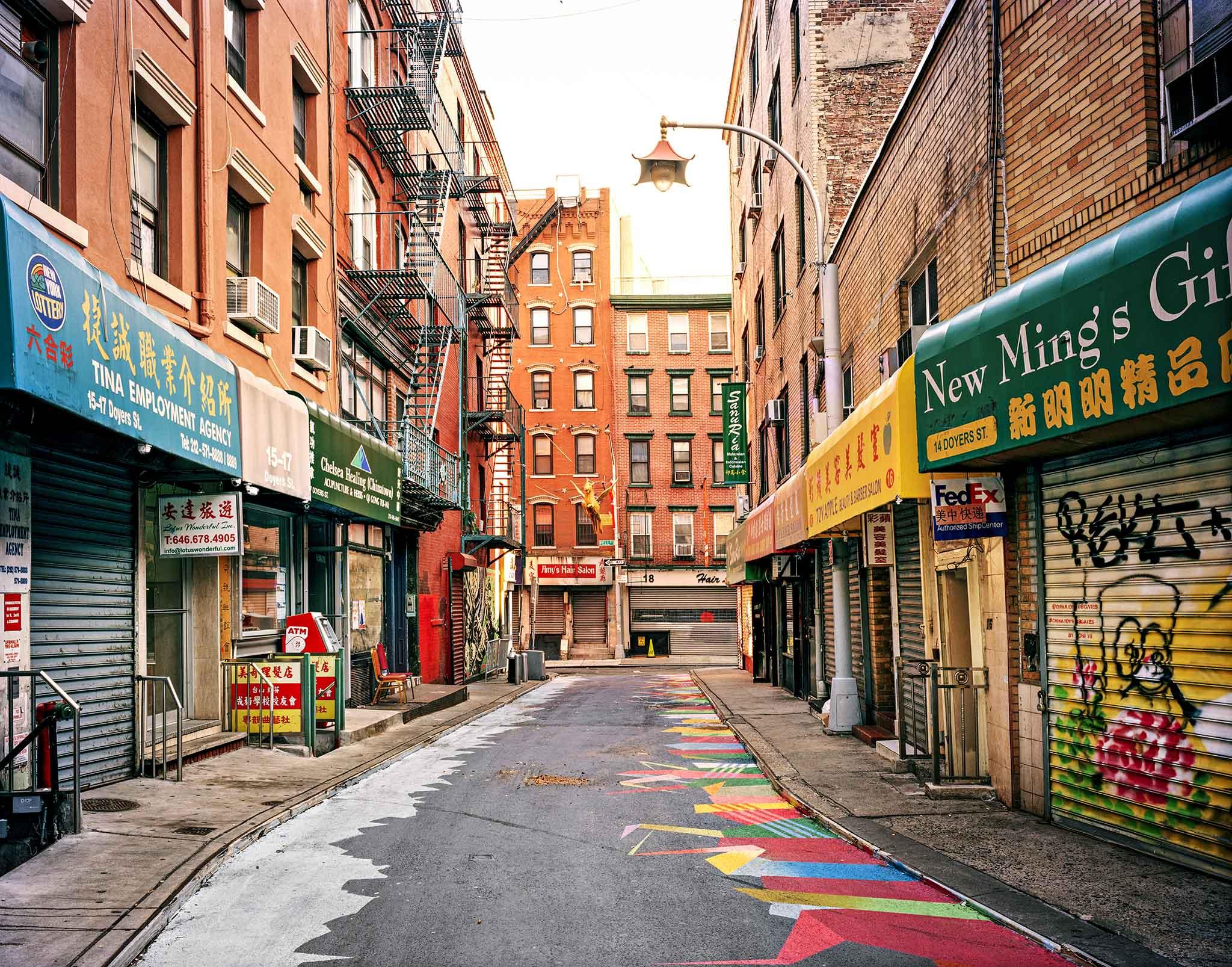 Lot#40<br />Doyers Street North, New York Chinatown ~ Morris Lum