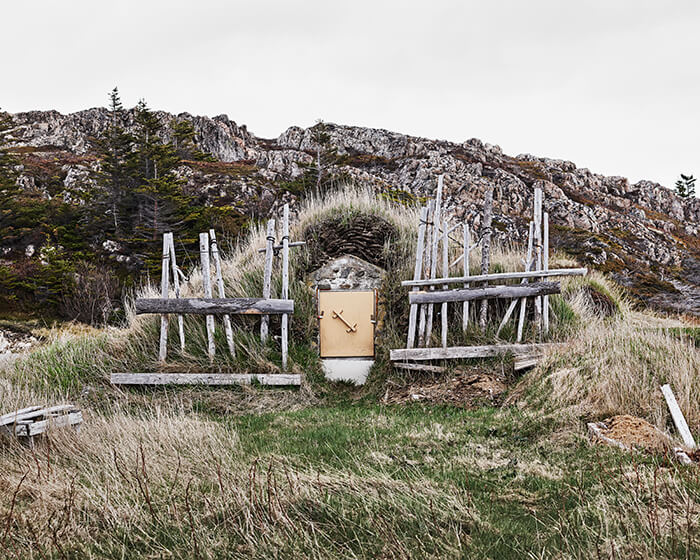 Lot#43<br />Root Cellar # 29, Blow-Me-Down Lane, Twillingate, Newfoundland, Canada, 2018 ~ Richard Johnson