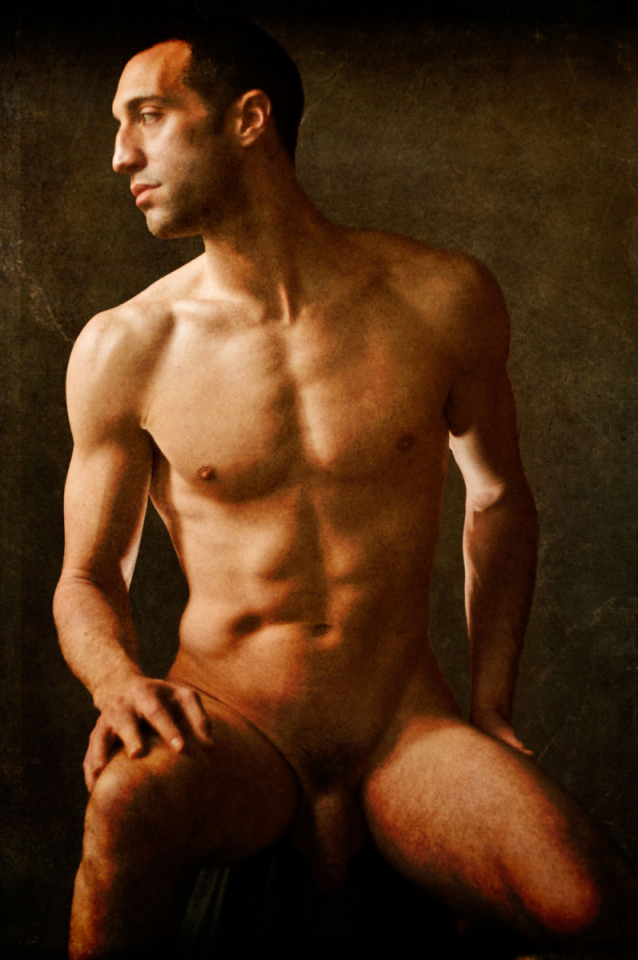 Lot #36<br/>Portrait of Daniel  ~  Michael Honegger